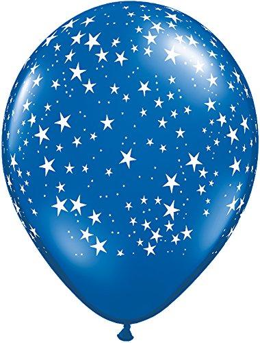 Pioneer Balloon Company 87624 STARS-A-ROUND - SAPPHIRE BLUE, 11