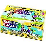 Tinta Tempera Guache C/6 Cores 15ML - Acrilex