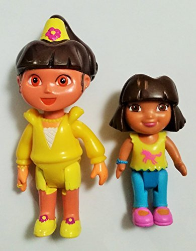 (Dora The Explorer Magic Castle Princess Replacement Figure & Dora & Me Figure)