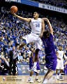 Karl-Anthony Towns Kentucky Wildcats Vertical Layup Unsigned Photograph - Original College Art and Prints