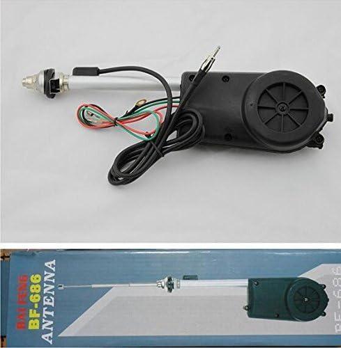 Antena telescópica eléctrica automática: Amazon.es: Coche y moto