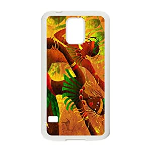 Creative Joyful Leaves Men Hot Seller High Quality Case Cove For Samsung Galaxy S5
