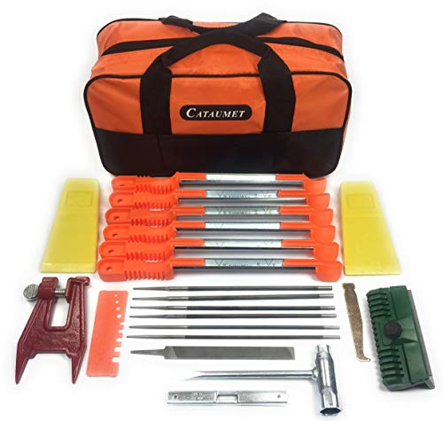 Cataumet Chainsaw Sharpener Kit Includes 2 5/32