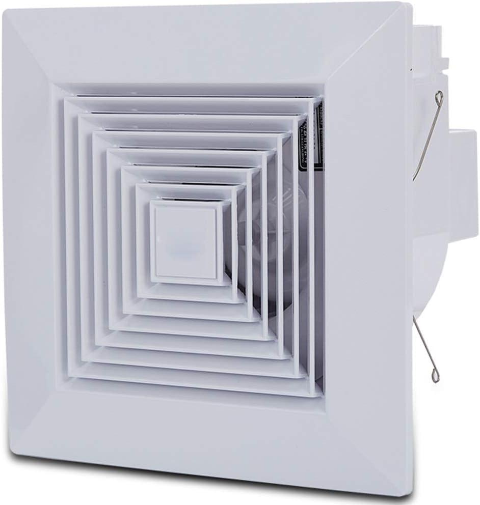 Ventilación Extractor Tamaño Silencioso/Canalizado De La Cocina Del Ventilador Del Extractor Del Techo Del Cuarto De Baño Tamaño Del Panel: 270 * 270m M: Amazon.es: Hogar