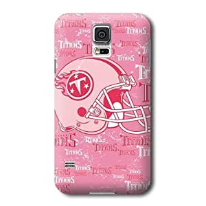 S5 Case, NFL - Tennessee Titans- Blast Pink - Samsung Galaxy S5 Case - High Quality PC Case