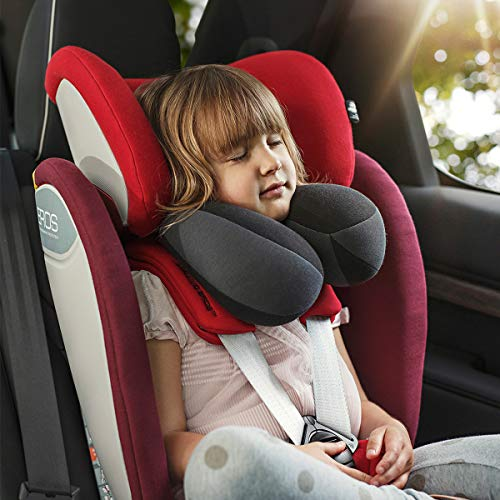 INFANZIA Kids Travel Neck Pillow, Head Neck and Chin Support, Child Size
