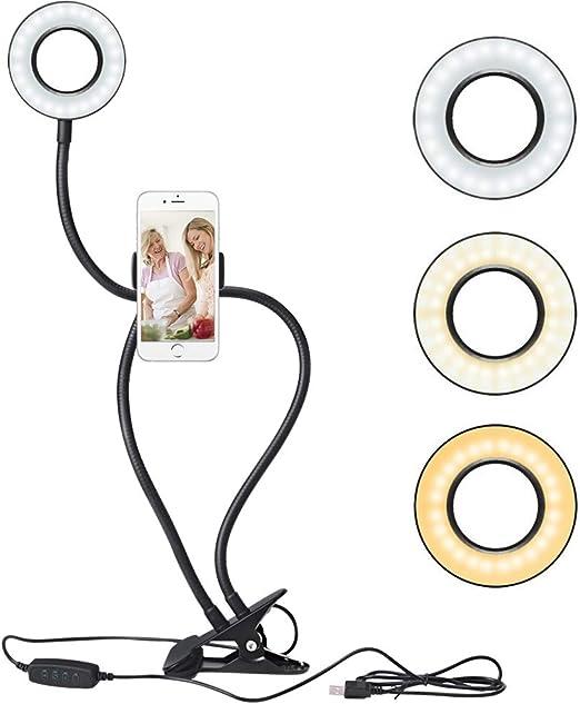 HomdMarket Selfie Light, Selfie Luz del anillo, de 36 años aro de ...
