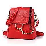 Top Shop Genuine Cow Leather Cobra Shoulder Handbag Tote Handle Red Messenger Bags