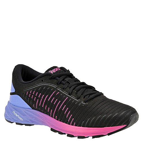 ASICS Dynaflyte 2 Shoe Women's Running 9.5 Black-Hot Pink-Persian Jewel