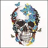 Halloween Deco, 5D Diamond Painting DIY Gift Festive Party Supplies Halloween Gifts (30x30cm, B)