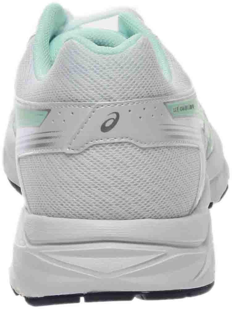 ASICS Women's Gel-Contend 4 Running Shoe, White/Bay/Silver, 5 M US by ASICS (Image #3)