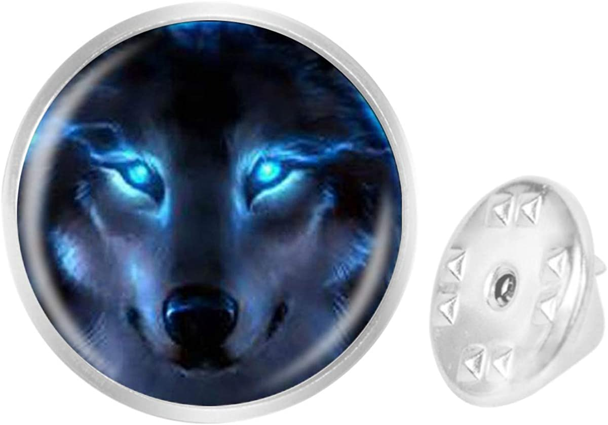 Custom Lapel Pin Brooches Nordic Wiccan Wolf Banquet Badge Pins Trendy Accessory Jacket T-Shirt Bag Hat Shoe