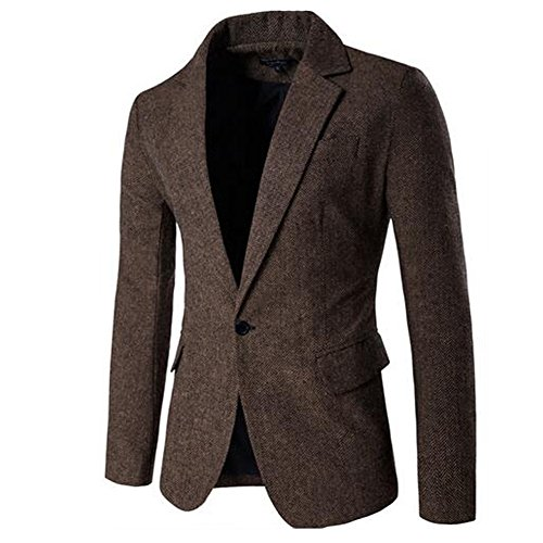 JINSEY Men's One Button Donegal Sport Co - Suits and Sportcoats Shopping Results