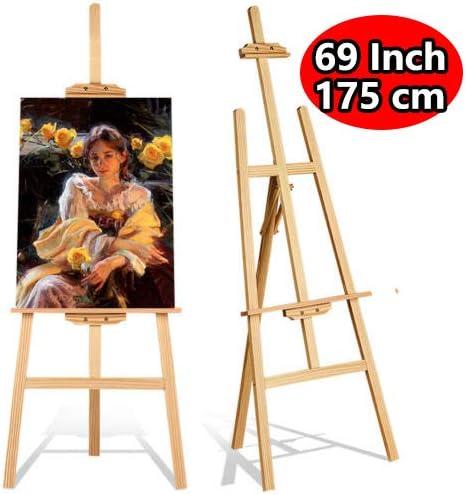 Wooden Adjustable Studio Easel Display Art Craft Artist Wedding Painting Stand