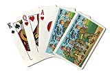 Comical Military Cartoon - Soldier's Getting Potent Air Mail (Playing Card Deck - 52 Card Poker Size with Jokers)