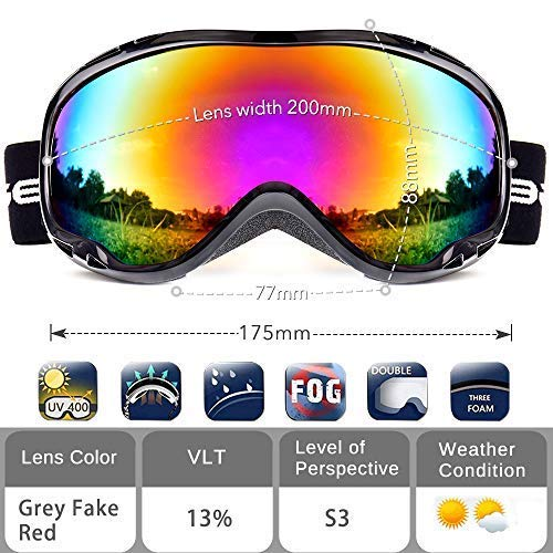 Ski goggles review
