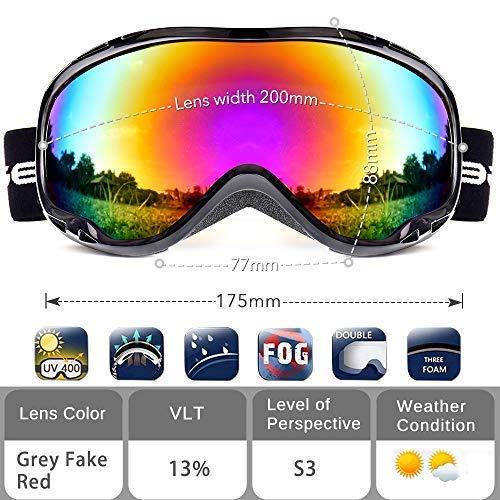 Buy polarized snowboard goggles
