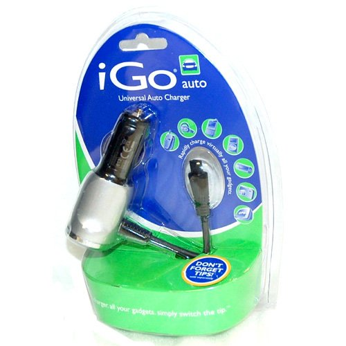 Simply Silver - New iGo Universal Auto Charger Car DC & Travel System power adapter cell phone