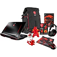 MSI GT73VR TITAN 4K-480 (i7-7820HK, 32GB RAM, 256GB NVMe SSD + 1TB HDD, NVIDIA GTX 1070 8GB, 17.3 UHD, Windows 10 Pro) VR Ready Gaming Notebook