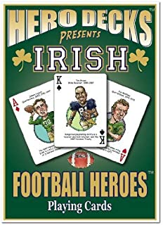 product image for Channel Craft Hero Decks - Notre Dame - Playing Cards