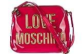 Love Moschino women's cross-body messenger shoulder bag fucsia