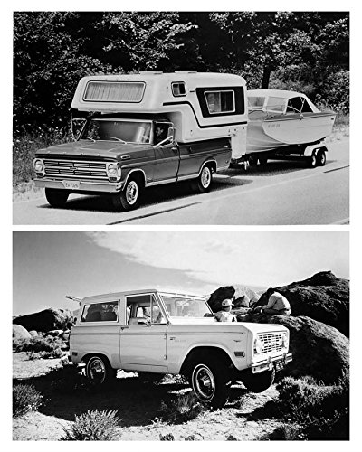 1968 Ford F250 Camper Special Pickup Truck and Ford Bronco Factory from AutoLit