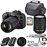 Nikon D7500 DSLR Camera with Nikon AF-S DX NIKKOR 18-140mm + 32GB SanDisk Memory + Professional Carrying Case + Camera Deluxe Starter Kit