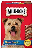 Milk-Bone Flavor Snacks Dog Treats for Dogs of all sizes, 60-Ounce (Pack of 2) For Sale