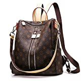 Olyphy Designer Leather Backpack Purse for Women, Fashion PU Shoulder Bag Handbags