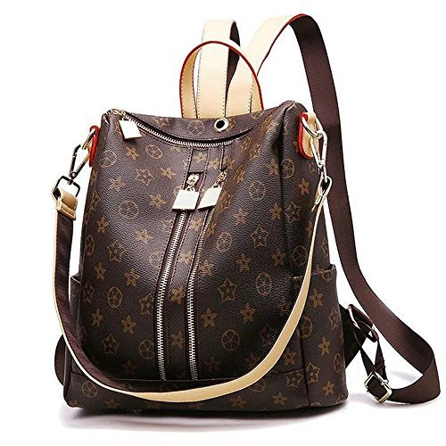 Olyphy Designer Leather Backpack Purse for Women, Fashion PU Shoulder Bag Handbags by Olyphy