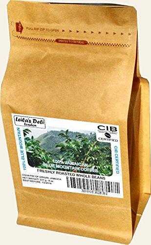 100% Auténtico Café Jamaica Blue Mountain, Granos Enteros (1 x 227 g)