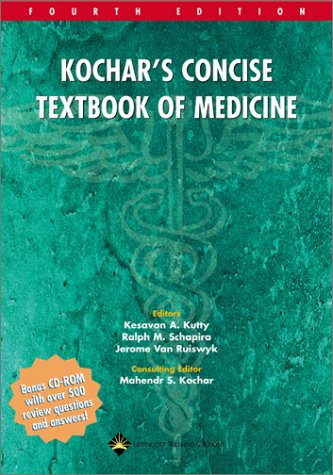 Kochar's Concise Textbook of Medicine (Book with CD-ROM)