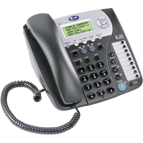 AT&T 992 Two-Line Corded Speakerphone with Caller ID (Corded Speakerphone Id Caller)