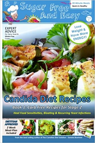 Sugar free and easy candida diet recipes book 1 20 minute meals sugar free and easy candida diet recipes book 1 20 minute meals to heal bloating yeast infections and to lose weight have more energy forumfinder Images