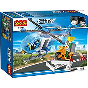 City Helicopter Police Set (...