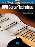img - for Guitar Technique: DVD/Book Pack (At a Glance Series) book / textbook / text book