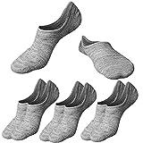 M&Z Mens No Show Sock Anti-slid Athletic Cotton Socks Fit All Seasons 3/6 pack