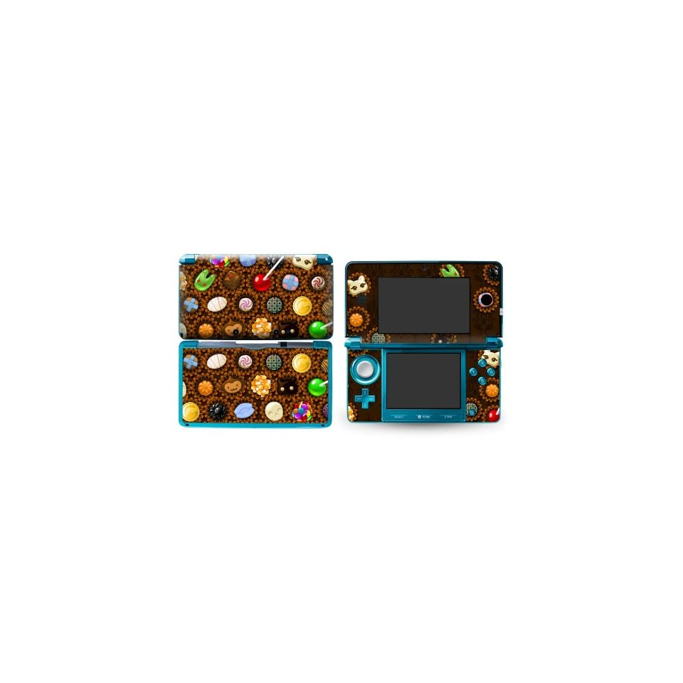 Bundle Monster Nintendo 3ds Vinyl Skin Cover Art Decal Sticker Protector Accessories   Yummy Candy