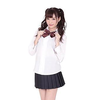 f522ac3d1b995 Amazon | A&Tcollection 可愛い定番制服 コスチューム レディース M ...