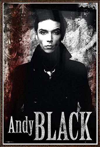 amazon com andy black framed music poster print andy biersack