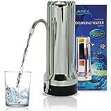 Countertop Drinking Water Filter - Alkaline (Chrome)
