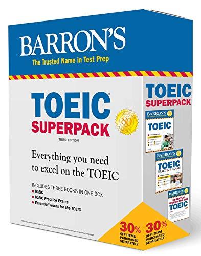 Barron's TOEIC Superpack (Barron's Test Prep) por Lin Lougheed