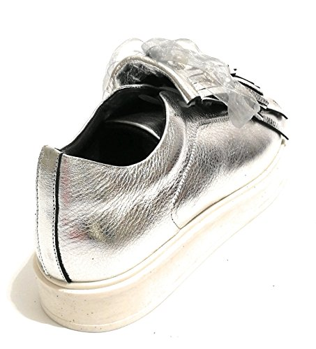 Pelle Col Silver Sneaker Donna Ds18pi15 Con Pixy Scarpe Nappe qvwzPzt