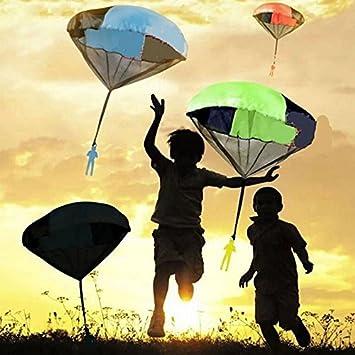 Soldado Mano Paracaidista Paracaídas Estore Kids Juguete Mini Hombre eE29YbHWDI