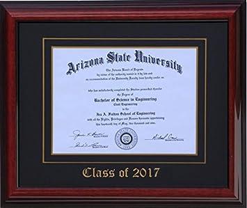 diploma frame 14x11 brandyblack 2017 customizable