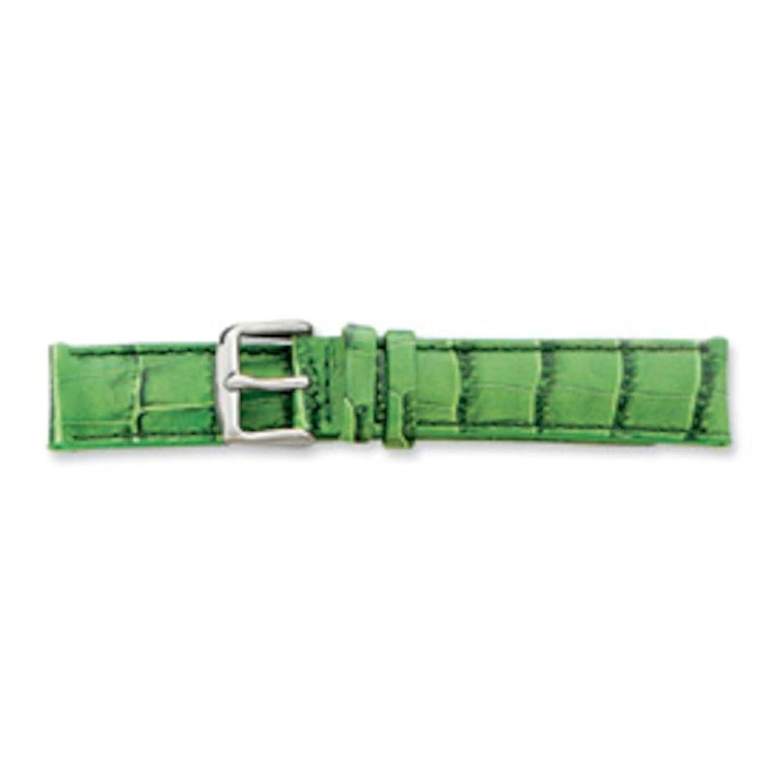 De beer green crocodile grainレザー時計バンド16 mm  B003ZFA868