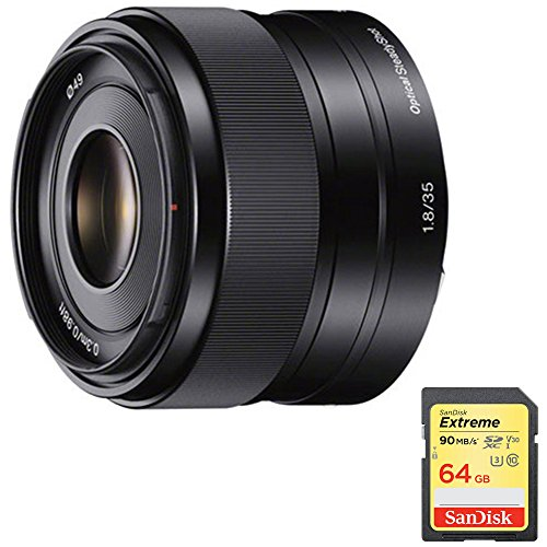 518VCLDAs6L - Sony SEL35F18 35mm f/1.8 Prime Fixed Lens