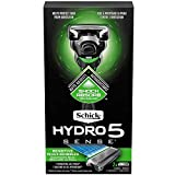 Schick Hydro 5 Razor for Men with Flip Trimmer and 2 Razor Blade Refills