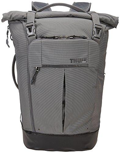 Thule 153957 Paramount Rucksack (Großes Laptop/Tablet-Fach, SafeZone-Fach, Robustes 420D-Nylon) Grau,24L