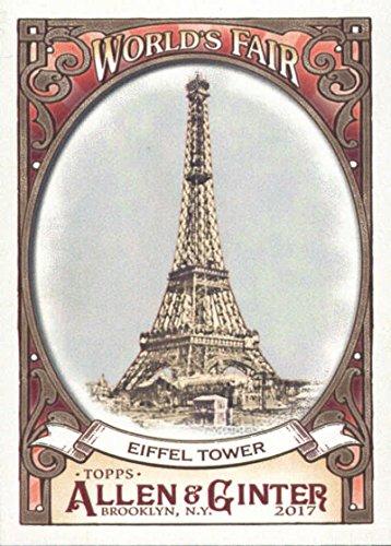 Baseball MLB 2017 Allen and Ginter World's Fair #WF-6 Eiffel Tower #WF-6 NM+